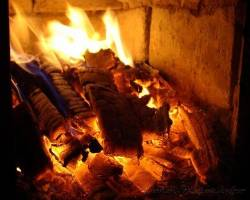 Пиролизное горение древесины